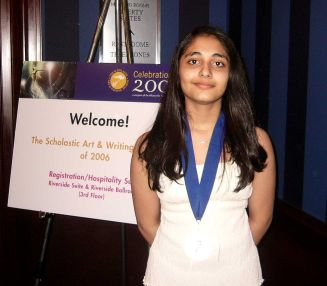 Image of Moha with her medal