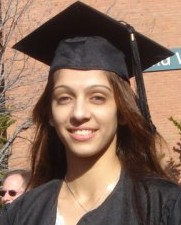 Graduation photo of Ms. Umangi Bhatt